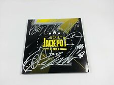 BLOCK B K-POP Promo Album JACKPOT Signed CD Booklet autographed Idol group Rare