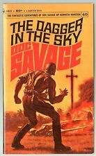 Doc Savage Book 40 The Dagger In The Sky Paperback Novel 1st Print Bantam NM-