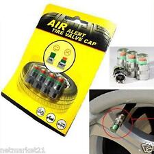Car Auto Air New Tyre Valve Caps 36PSI Pressure Monitor Alert Cover Car Bikes