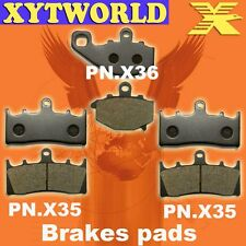 FRONT REAR Brake Pads for Kawasaki ZX 9 R (ZX 900 B3/B4) 1996-2001