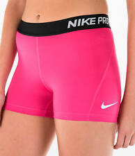 Nike Women's Pro Cool Dri-Fit 3-Inch Training Shorts pink/black size small nwt