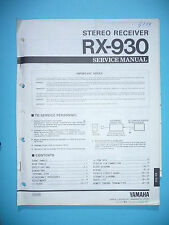Service Manual für Yamaha RX-930   ,ORIGINAL