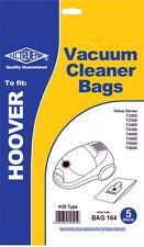 Electruepart BAG 164 5 pack Vacuum Cleaner Bags to fit Hoover Vacuum Cleaners