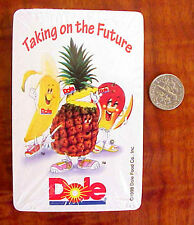 1998 DOLE FOODS PINEAPPLE KIDS ADVERTISING DECK OF PLAYING CARDS  (SEALED MIP)