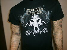 FOREVER IN  TERROR CONCERT T SHIRT Cleveland Ohio METAL Band Tour 7th Plague