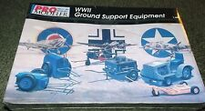Monogram Pro-Modeler 1/48  WWII Ground Service Support Set - Factory Sealed Kit