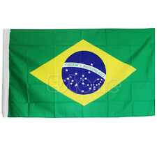 Brazil Polyester Flag National Indoor Outdoor Large Flag 5 x 3ft 150 x 90CM