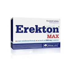 OLIMP Erekton Max 8 Tablets STRONG POTENCY ERECTION SEX LIBIDO ENHANCER PILLS