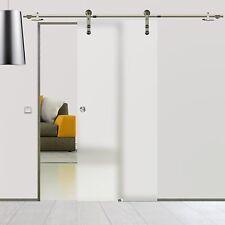 Soft Stop Glasschiebetür Glastür Edelstahl 775x2050mm BS 775DA