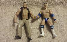 Awesome Jakks 1997 1998 WWE figure The Rock + Rocky Mavia loose lot of 2