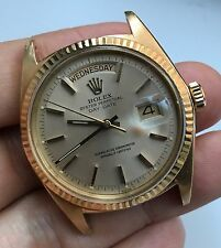 1968 Vintage Rolex 18K Yellow GOLD Day-Date President ref. 1803