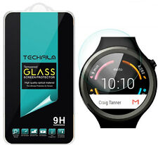 TechFilm® Tempered Glass Screen Protector Saver For Motorola Moto 360 Sport
