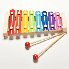 Kids Baby Toys 8 Notes Musical Xylophone Piano Wooden Instrument Children MF
