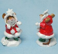 Wee Forest Folk Retired Limited Edition Crystal