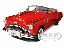 1949 BUICK CONVERTIBLE RED 1:18 SCALE DIECAST MODEL CAR BY MOTORMAX 73116