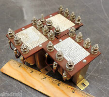 TSUBAKIMOTO CHAIN CURRENT TRANSFORMER SHOCK RELAY 600 VAC 240CB LOT OF 3 USED
