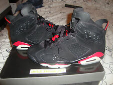 Nike air jordan retro vi 6 black varsity Rouge nous 14 UK 13 48,5 infrarouge Oreo 2010
