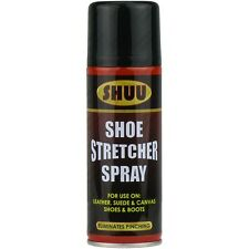 4 x 200ml Shoe Stretcher Spray Relieves Tight Fitting Shoes Leather Softener