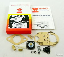 WEBER 34 ICH/ICT CARB/ CARBURETTOR SERVICE KIT ORIGINAL WE446