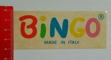 Aufkleber/Sticker: BiNGO made in Italy (150816184)