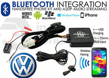 VW Touran 2005 on Bluetooth streaming handsfree calls CTAVGBT009 AUX USB Samsung