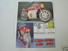 PROTAR MV AGUSTA 500 CC 3 CYLINDER AND MOTO GUZZI 500 CC 4 CYL.  MOTORCYCLE