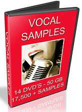 VOCAL SAMPLES  -  REASON REFILL - CUBASE - FL STUDIO - KONTAKT - LOGIC EXS24