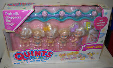 #1490** NRFB Vintage TYCO Quints - Thirsty Quints Dolls BAD BOX