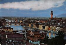 B33488 View of the Bridges firenze  italy
