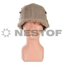 M16 M1916 JUTE HELMET COVER HELMBEZUG MADE IN EUROPE FREE WORLDWIDE SHIPPING