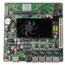 Intel atom mini itx board with 4 LAN d525mf for firewall/network server/router