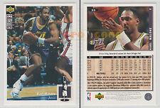 NBA UPPER DECK 1994 COLLECTOR'S CHOICE - Karl Malone # 32 - Ita/Eng- MINT