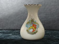 Florentine china model of a vase with Hammersmith crest