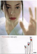 Publicité Advertising 2004 Parfum Flower by Kenzo