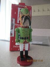 BOXER UNCROPPED  ~  NUTCRACKER  SOLDIER DOG ORNAMENT #6