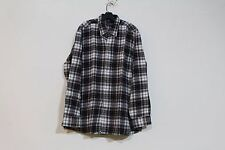 CHARLES ROBERTSON FINEST ENGLISH STYLE HEAVY FLANNEL PLAID SHIRT 2XL NEW