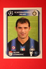 PANINI CHAMPIONS LEAGUE 2010/11 # 16 INTER STANKOVIC BLACK BACK MINT!