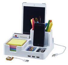 Smart Desk Organizer (White Color)