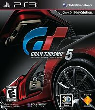 Gran Turismo 5 Five (Playstation 3, PS3 Racing Cars Video Game) Brand NEW