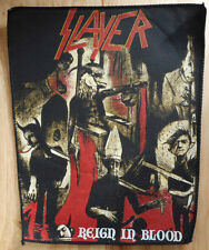 RARE VINTAGE SLAYER REIGN IN BLOOD BACK PATCH!!! show no mercy,hell awaits,lp,cd