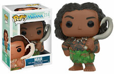Maui - Funko Pop! Disney #214 - Moana & Pua - PIXAR - MOVIE - HAWAII