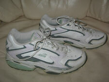 AVIA'110' Cantilever Women's White w/ Green ATHLETIC SHOES  sz 8 M