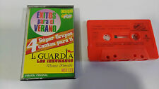 EXITOS PARA EL VERANO SUPER POP INHUMANOS LA GUARDIA CINTA TAPE CASSETTE