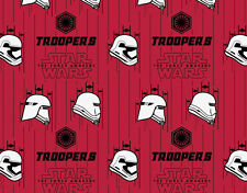 FAT QUARTER  STORM TROOPERS  STAR WARS THE FORCE AWAKENS  CAMELOT COTTON FABRIC