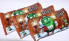 3 Bag m&m's PEANUT BUTTER Chocolate Candy 11.40 oz Candies Christmas