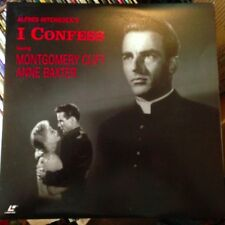 I Confess - Black & White  Laserdisc Buy 6 for free shipping