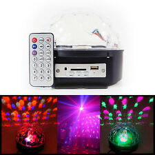 LED DJ Party Light - Disco Ball - Plug it in Plays with your Music w/Remote Cont