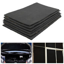 6pcs 30cmx50cm Sound Proofing Deadening Cotton Cell Foam For Car Home Office