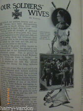 Our Soldiers Wives South African Boer War Antique Victorian Photo Article 1900