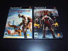 """God of War & God of War II Lot (Sony PlayStation 2) Complete """"Great Condition"""""""